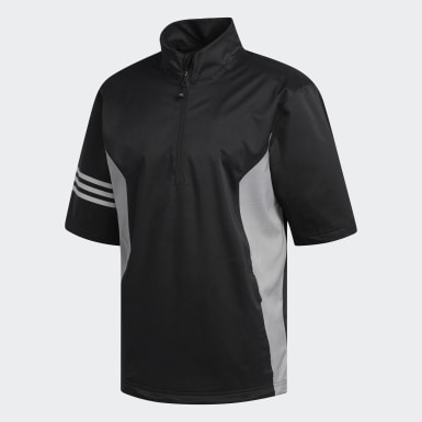 Climaproof Heather Short Sleeve Rain Jacket noir Hommes Golf