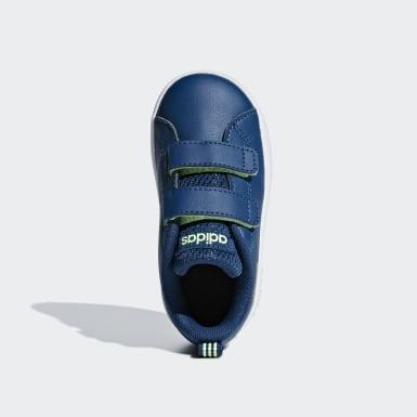 Infant Sport Inspired Blue VS Advantage Clean Shoes