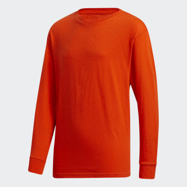 Youth Training Orange Y LS AMPLIFIER TEE - LICENSED