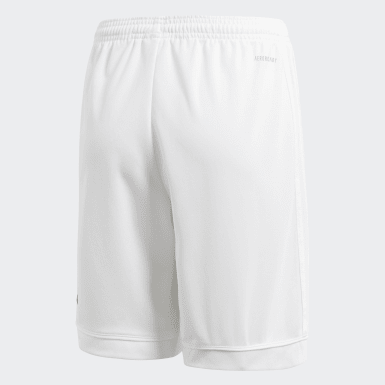 Shorts Squadra 17 Blanco Niño Fútbol