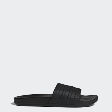 Women's Essentials Black Adilette Comfort Slides