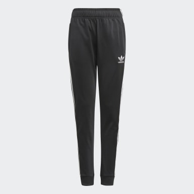 Kinderen Originals zwart Adicolor SST Trainingsbroek