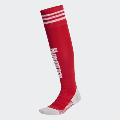 Fußball FC Bayern München Human Race Socken Rot