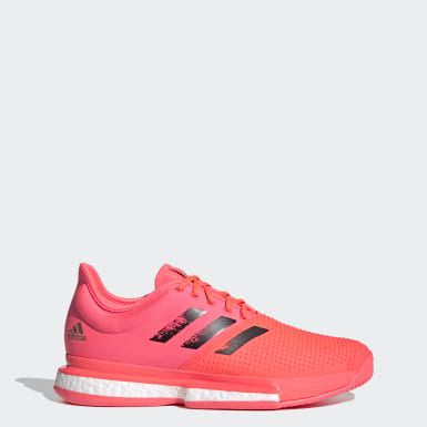 Tennis Pink SoleCourt hard court Tokyo tennis shoes
