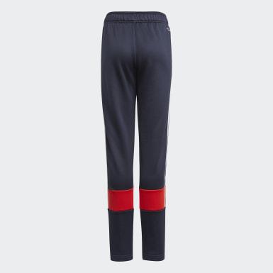 Boys Training Blue 3-Stripes AEROREADY Primeblue Pants