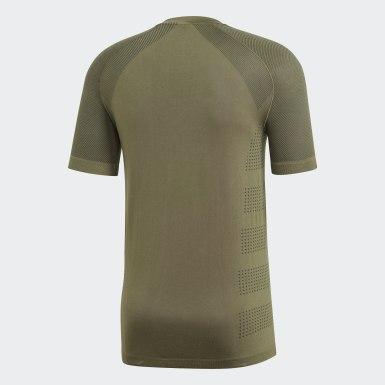 T-shirt Ultra Primeknit Light Verde Homem Running