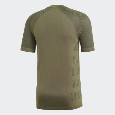 Heren Hardlopen Groen Ultra Primeknit Light T-shirt