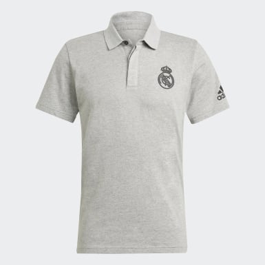 REAL TRAVEL RANGE POLO Gris Hommes Football