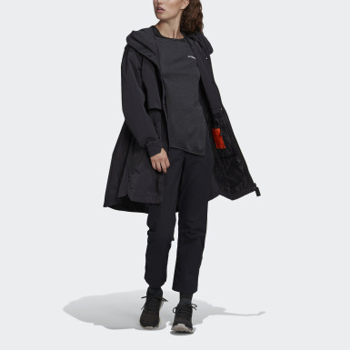 Dames City Outdoor Zwart MYSHELTER WIND.RDY Parka