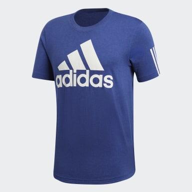 Playera Sport ID Logo Azul Hombre Athletics