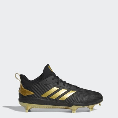 Men's Baseball Black Adizero Afterburner V Cleats