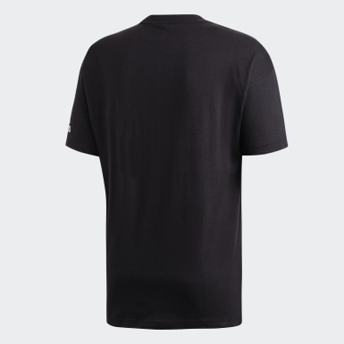 Camiseta Must Haves Plain Negro Hombre Sport Inspired