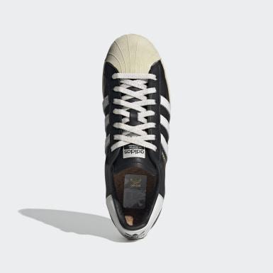 Erkek Originals Siyah Superstar Ayakkabı
