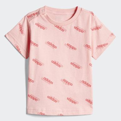 розовый Комплект: футболка и шорты I FAV SS SET