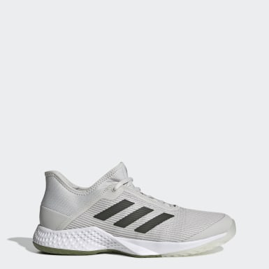 Women Tennis Grey Adizero Club Shoes