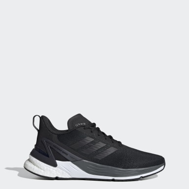 Women Running Black Response Super Shoes