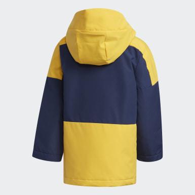желтый Утепленная куртка