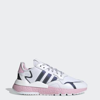 Kadın Originals Beyaz Nite Jogger Ayakkabı