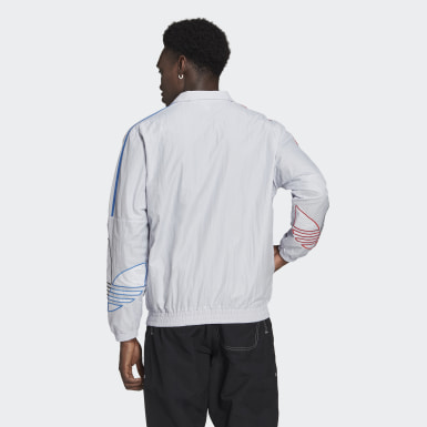 Men's Originals Grey Adicolor Track Jacket