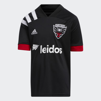 Youth Soccer White D.C. United 20/21 Home Jersey