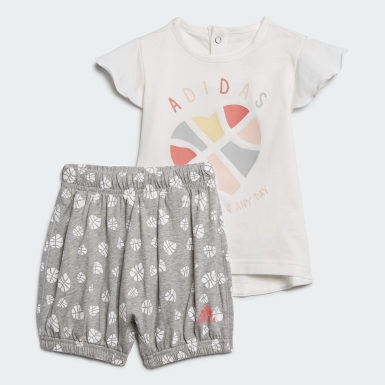 Girls Training White Infants Summer Set