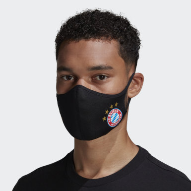 Face Covers M/L 3-Pack FC Bayern München Nero Athletics