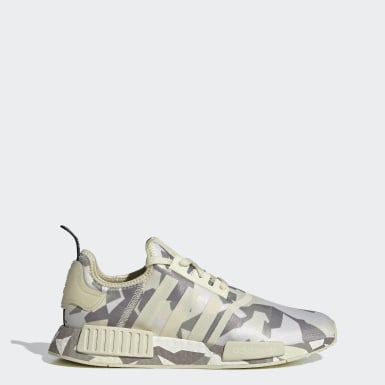 Men Originals Beige NMD_R1 Shoes