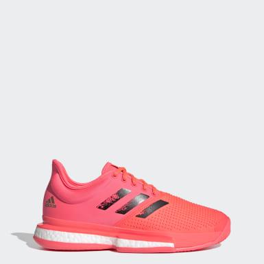 Chaussure de tennis SoleCourt hard court Rose Femmes Tennis