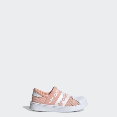 Kids Originals Pink Superstar SMR 360 Shoes