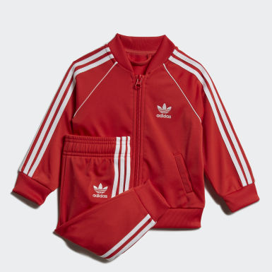 Track Suit SST Rosso Bambini Originals