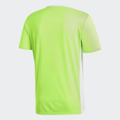 Camisa Entrada18 Verde Homem Futebol