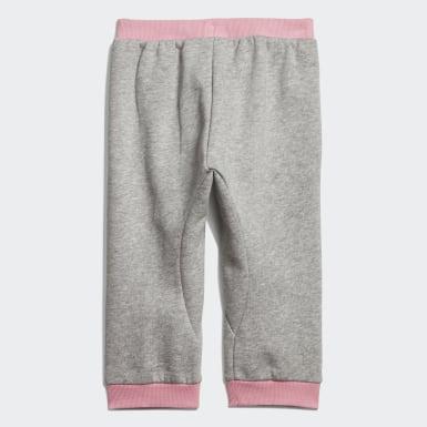 Linear bukse Grå