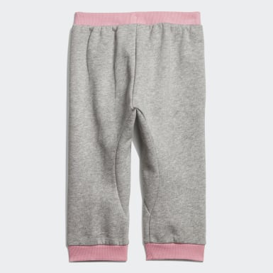 Pantaloni Linear Grigio Bambini Athletics
