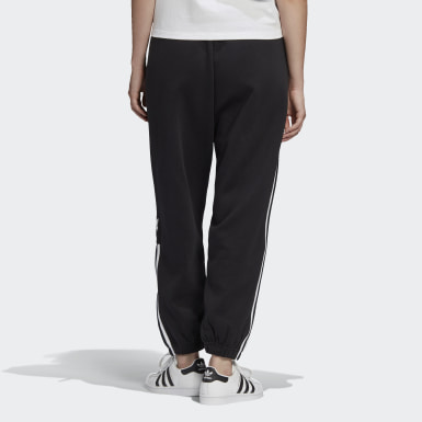 Women Originals Black Cuffed Joggers
