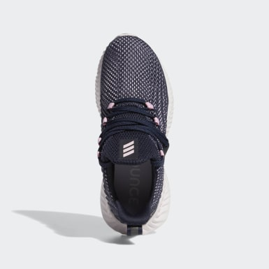 Women Running Blue Alphabounce Instinct Shoes