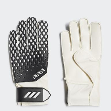 Deti Futbal čierna Brankárske rukavice Predator 20 Training