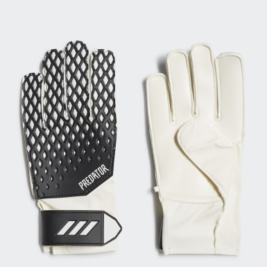 Kids Football Black Predator 20 Training Gloves