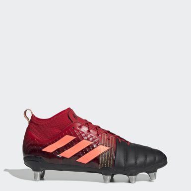 Rugby Sort Kakari X-Kevlar 2 Soft Ground støvler