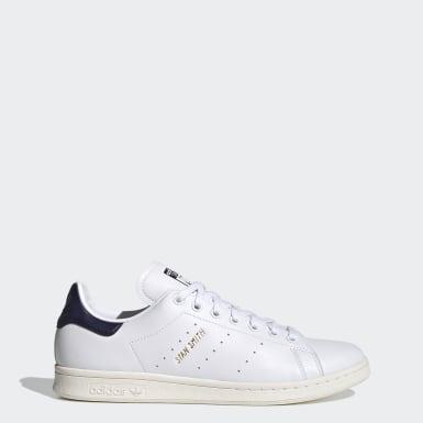 ผู้ชาย Originals สีขาว รองเท้า Stan Smith