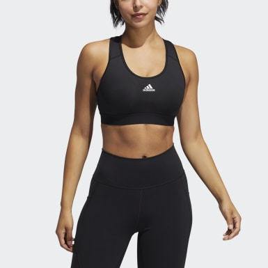 Sujetador Believe This Lace-Up Negro Mujer Training