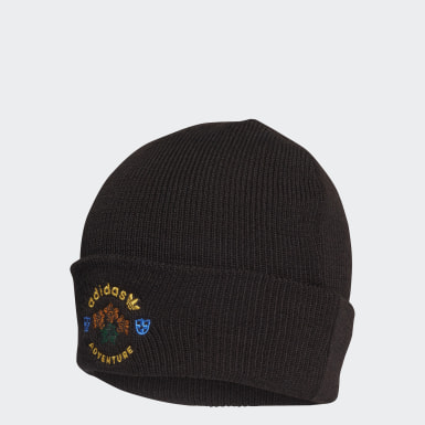 Originals Black Wool Adventure Cuff Beanie