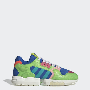 Zapatilla ZX Torsion Parley Verde Originals