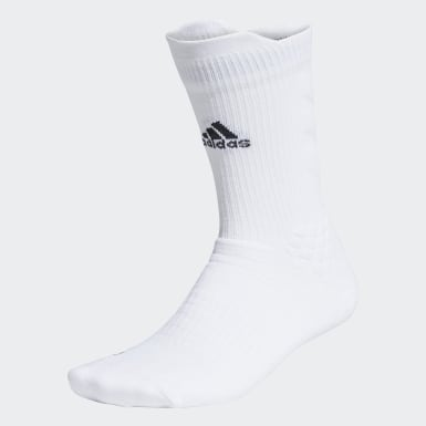 Training White Alphaskin Crew Socks