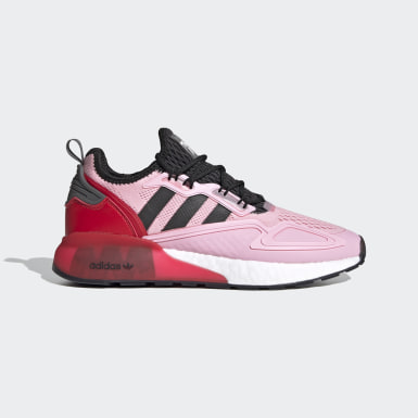 Men Originals Pink Ninja ZX 2K Boost Shoes