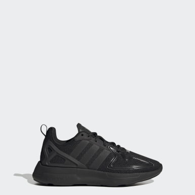 Youth 8-16 Years Originals Black ZX 2K Flux Shoes