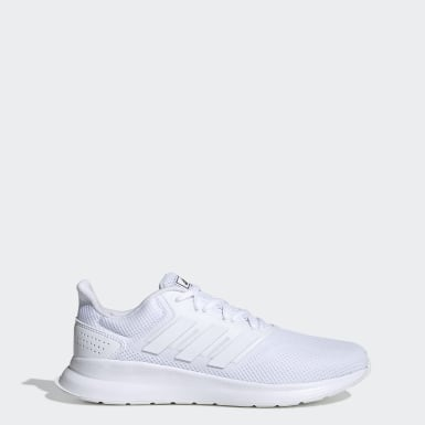Men Running White Runfalcon Shoes