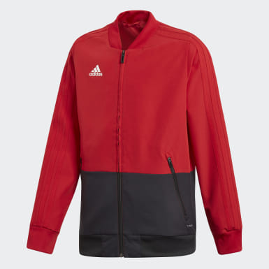 Kids Training Red Condivo 18 Presentation Jacket