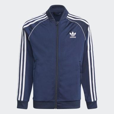синий Спортивный костюм Adicolor SST