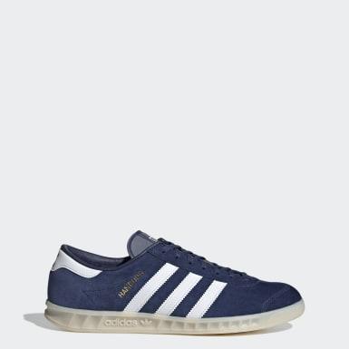 Kvinder Originals Blå Hamburg sko