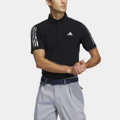 Men Golf Black Polo Shirt